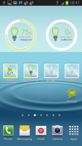 afstandbaar bestuurbare lampen