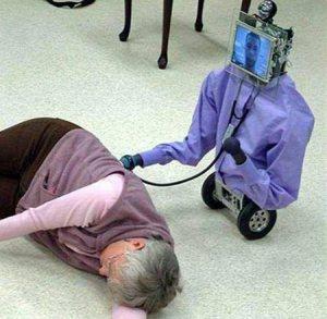 Het inzetten van zorgrobots  voor ouderen heeft voordelen
