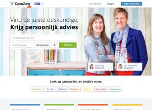 Homepage OpenZorg.net