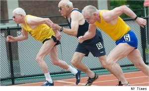 old people runshoes