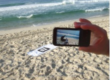 augmented reality op strand