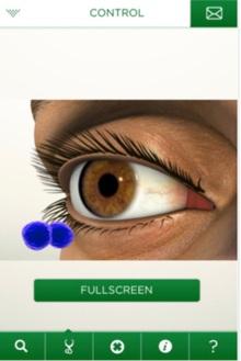 augmented reality oogonderzoek