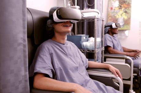 Virtual reality in de zorg