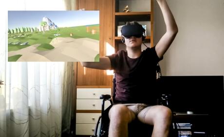 VR helpt bewegen